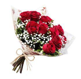 Prova de Amor (12 Rosas vermelhas Importadas)