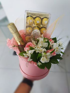 Box de Flores Passion- C/ Freixenet Baby