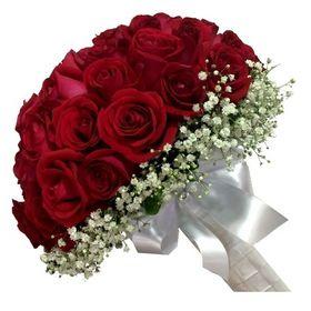 Buquê Noiva de Vermelho