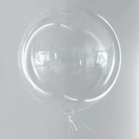 """Balão Bubble personalizado 18""""  (45cm) com gás hélio"""