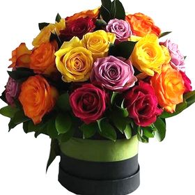Box 24 Rosas Coloridas