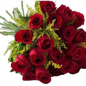 Buquê 24 Rosas e tangos