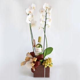 Kit Orquídea, Vinho e Uva