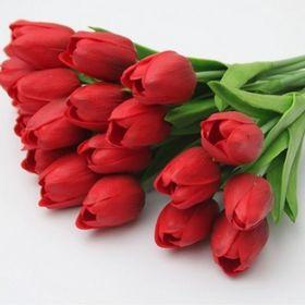 Buquê 20 tulipas vermelhas*