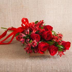 Ramalhete de 6 rosas especial para mãe