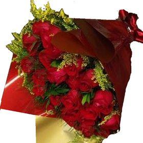 Buquê 36 Rosas e tangos