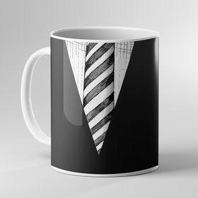 Caneca pai gravata