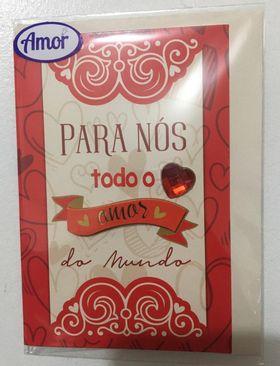 Cartão pequeno- Todo Amor