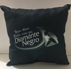 Almofada- Diamante Negro