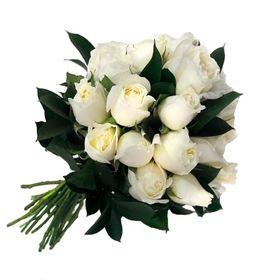 Buquê 10 Rosas Brancas