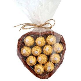 Coração com Ferrero Rocher