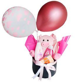 Box Maternidade Pig Pink