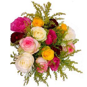thumb-buque-15-rosas-coloridas-0