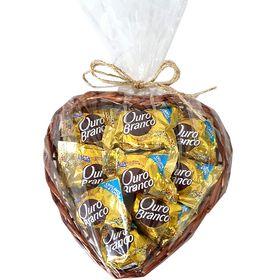 Coração de Bombons Ouro Branco