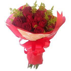 Buquê 30 rosas vermelhas
