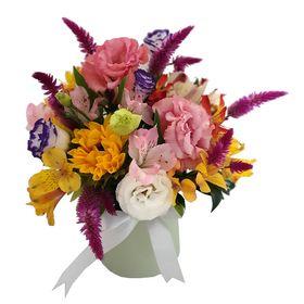 Arranjos com 15 Flores Mistas