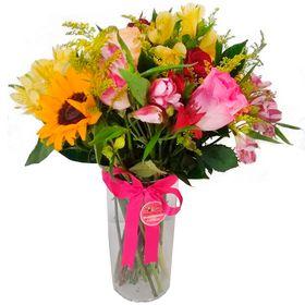Vaso com Flores Mistas