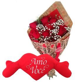 thumb-buque-de-rosas-e-pelucia-amo-voce-0