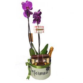 Box com Orquídea #Formou