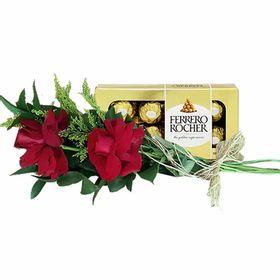 02 Rosas e Ferrero Rocher