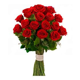 Buquê 18 Rosas Vermelhas