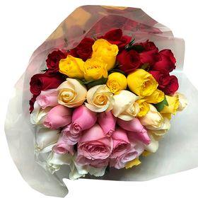 Buquê Degrade 48 flores