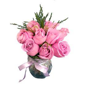 Arranjo 10 rosas