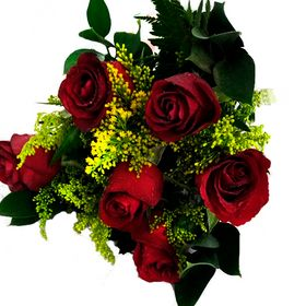 Buquê 6 rosas e tangos