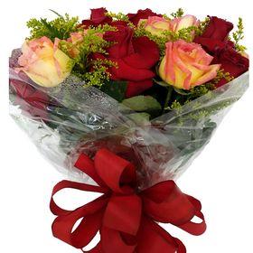 Buquê 24 Rosas Vermelhas e Ambiance