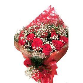 Buquê com 24 rosas Colombianas