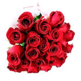 Buquê de Rosas vermelhas 24 unidades