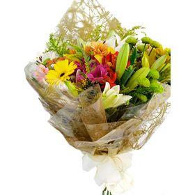 Buquê mix de flores do dia