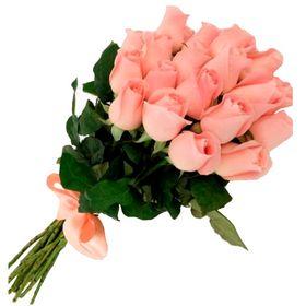 Buquê 24 Rosas com laço