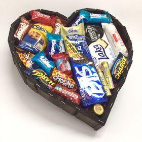 cesta especial doçura de coração