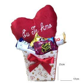 Kit especial coração e chocolates