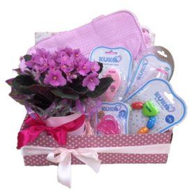 Kit Maternidade com violeta para as Meninas