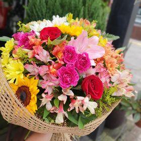 Buquê GG flores mistas colorido