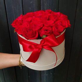 Box de rosas vermelhas