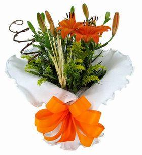 Vaso Florido de Lírio