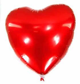 Balão  forma de Coração