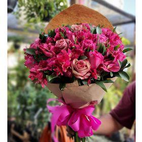 thumb-buque-24-rosas-na-cor-rosa-escuro-1