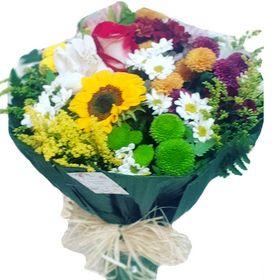 Buquê Mix flores da estação